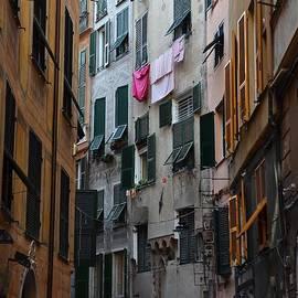 Street in Genova by Dany Lison