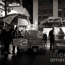 Street Vendor Row by Miriam Danar
