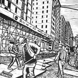 Street Work In New York by William Cauthern