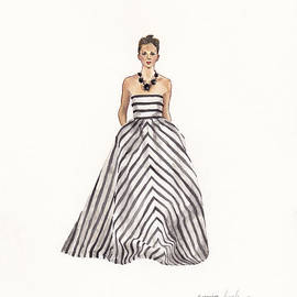 Striped Glamour by Jazmin Angeles