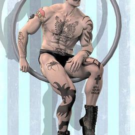 Quim Abella - Trapeze artist solitary
