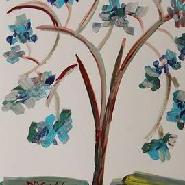 Mary Carol Williams - Study of a Blue Tree