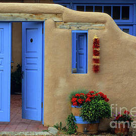 Taos New Mexico Architecture  by Bob Christopher