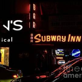 Subway Inn Bar - Vanishing Places of New York by Miriam Danar