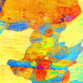 Summer Eucalypt Abstract 25 by Margaret Saheed