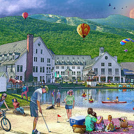Summer in Waterville Valley by Nancy Griswold