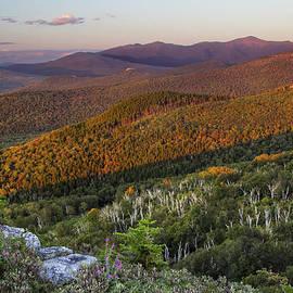 Chris Whiton - Summer Sunset at Nubble Peak