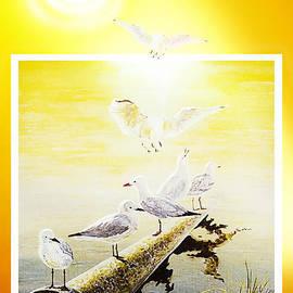 Sun Birds by Hartmut Jager