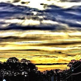 Sun Burst by Tyson Kinnison