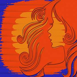 Sun Kissed Girl by Florian Rodarte