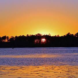 Cynthia Guinn - Sun Setting At The River