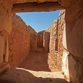 Sun Temple Mesa Verde National Park by Fred Stearns