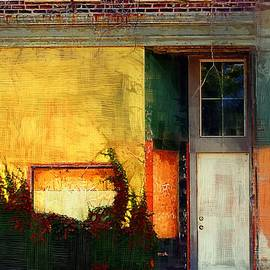 Sunlight Catching Yellow Wall by RC deWinter