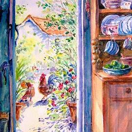 Sunlit Cottage Doorway  by Trudi Doyle