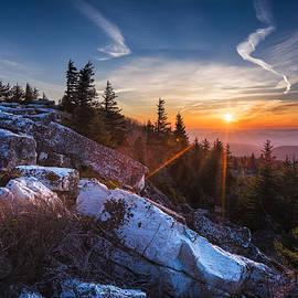 Sunrise at Bear Rocks by Eduard Moldoveanu
