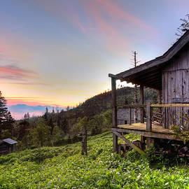 Sunrise at Mt LeConte by Debra and Dave Vanderlaan