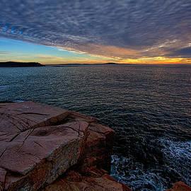 Sunrise at Otter Cliffs #2 by Stuart Litoff
