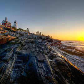 At Lands End Photography - Sunrise at Pemaquid Point