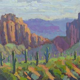 Sunrise Canyon by Scott Palmer