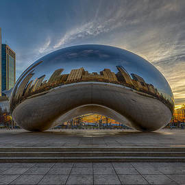 Sunrise Cloud Gate by Sebastian Musial
