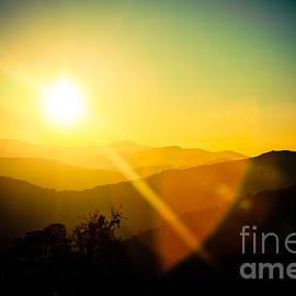 Raimond Klavins - Sunrise in Himalayas Artmif photo Raimond Klavins