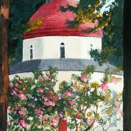 Nigel Radcliffe - Sunrise on Orthodox Church Kos