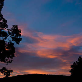 Sunrise Over Mammoth Campground by Frank Madia