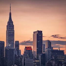 Manhattan sunrise by Eduard Moldoveanu