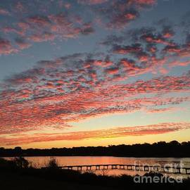 Sunrise Over Pensacola Florida by John Telfer