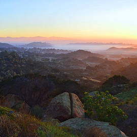 Sunrise Over San Fernando Valley by Glenn McCarthy