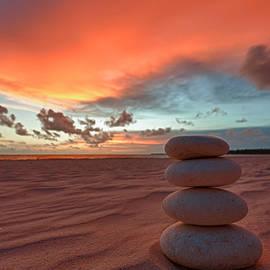 Sunrise Zen by Sebastian Musial