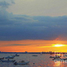 Dora Sofia Caputo Photographic Art and Design - Sunset Over The Bay