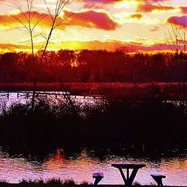 Daniel Thompson - Sunset at Crosswinds