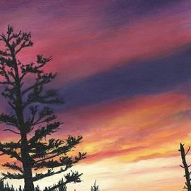Deborah Butts - Sunset at Glacier National Park
