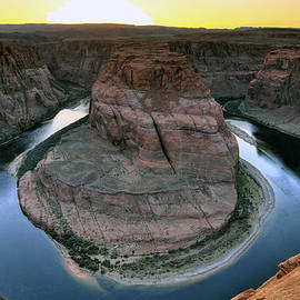 Dan Myers - Sunset At Horseshoe Bend
