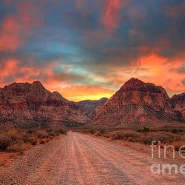 Eddie Yerkish - Sunset At Red Rock Canyon