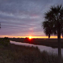 Sunrise at Hickory Mound by Bill Chambers