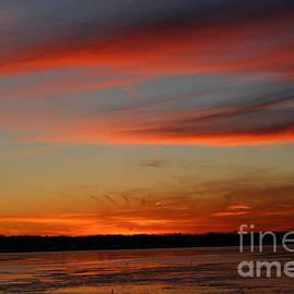 The Last Sunset in Winter by Dora Sofia Caputo Photographic Design and Fine Art