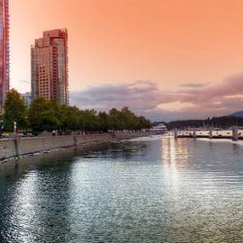Carol Cottrell - Sunset at Vancouver