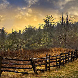 Debra and Dave Vanderlaan - Sunset in Blue Ridge