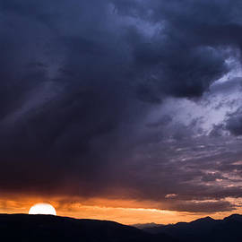 Nila Newsom - Sunset in the French Alps