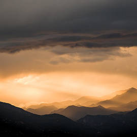 Nila Newsom - Sunset in the Mountains