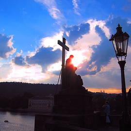 Andreas Thust - Sunset on Charles Bridge