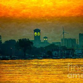Mary Machare - Sunset on Milwaukee