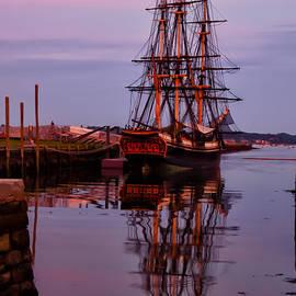 Sunset On The Friendship Of Salem by Jeff Folger