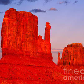 Sunset on the Mittens by Tracy Knauer