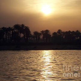 Sunset on the Nile by Dalani Tanahy