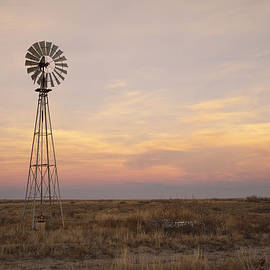 Sunset On The Texas Plains by Melany Sarafis