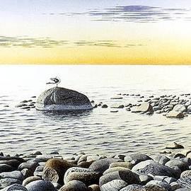 Conrad Mieschke - Sunset over Lake Huron