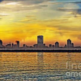 Mary Machare - Sunset over Milwaukee